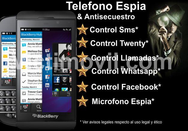 ¿Que se necesita para Descargar WhatsApp espía Blackberry?